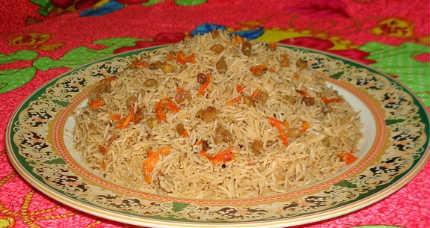 Какой рис нужен для плова_афганский плов