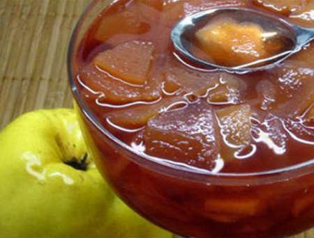 Варенье из айвы- самый вкусный рецепт_ дольками