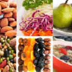 Продукты содержащие клетчатку, список продуктов