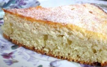 Творожный пирог рецепт с фото в духовке_ с простой начинкой