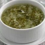 Как приготовить щавелевый суп с яйцом_рецепт
