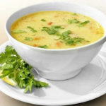 Сливочный суп с грибами и курицей_рецепт
