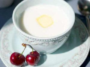 Как варить манку на молоке_жидкая