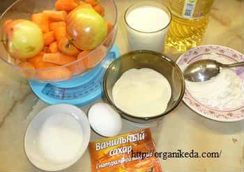 Морковные котлеты рецепт с манкой_продукты для приготовления