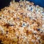 Перлотто-рецепт с грибами