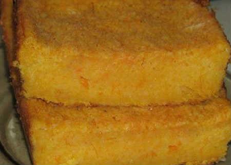 Запеканка из тыквы с манкой_рецепт