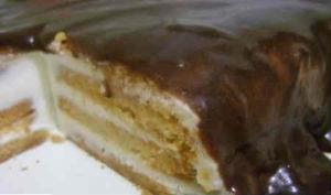 Как приготовить торт из печенья без выпечки_рецепт