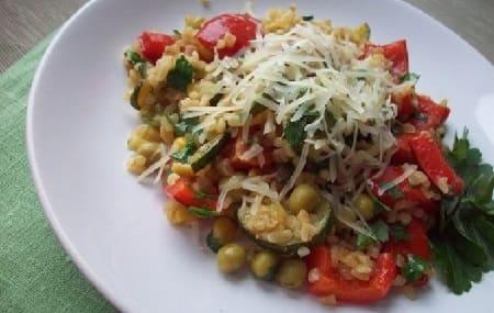 Крупа булгур что_рецепт с овощами