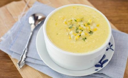 Кукурузная крупа польза и вред_суп