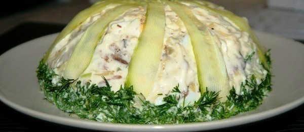 Салат со шпротами слоеный рецепт с фото_приготовление