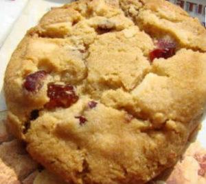 Печенье с клюквой_и белым шоколадом
