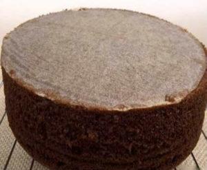 Рецепт шоколадного бисквита для торта_простой с фото