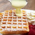 Бельгийские вафли рецепт для электровафельницы_хрустящие