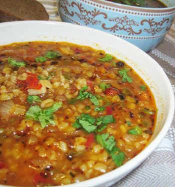 _турецкий суп из чечевицы