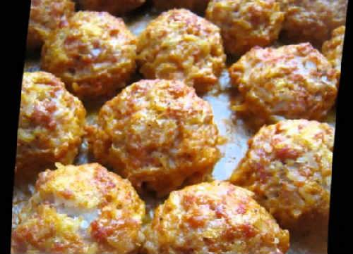 Тефтели ежики с рисом рецепт_ с фото