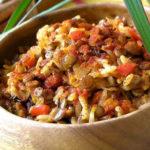 Постный плов с овощами_рецепт