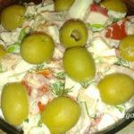 Салат с крабовым мясом рецепт