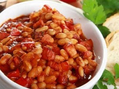 _салат с тунцом и белой фасолью рецепт