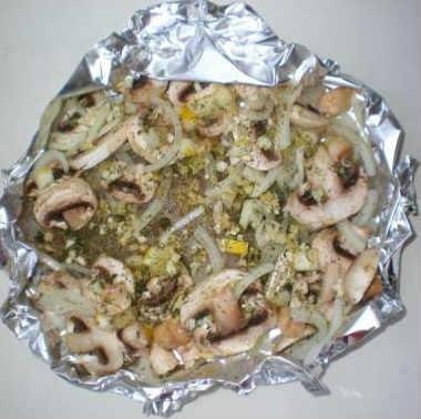Как приготовить филе минтая вкусно_ в духовке с грибами