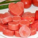 Как заморозить помидоры на зиму в силиконовым формочках