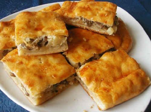 Мясной пирог в духовке рецепт из фарша