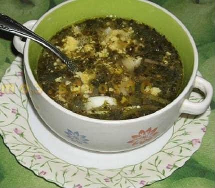 Zelenyj borshh so shhavelem i jajcom recepty10