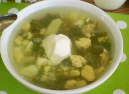 Zelenyj borshh so shhavelem i jajcom recepty3