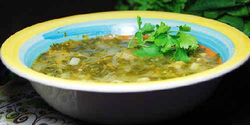 Zelenyj borshh so shhavelem i jajcom recepty8