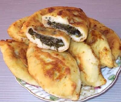 Пирожки со щавелем рецепт