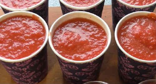 Tomatnaja pasta v domashnih uslovijah recept na zimu