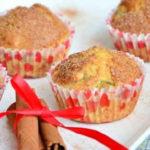 Кексы с яблоками рецепт