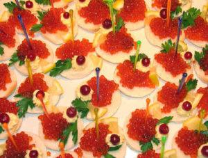 Бутерброды с икрой красной рецепты с фото