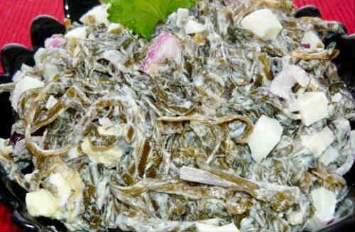 Salat s morskoj kapustoj i jajcom recept8