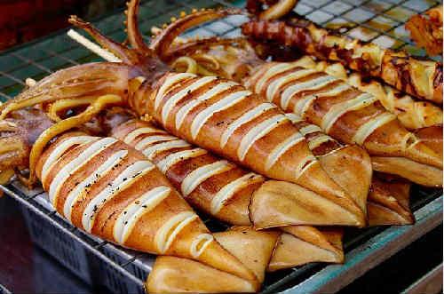 Кальмары фаршированные: рецепты приготовления с фото
