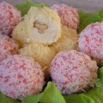 Рафаэлло из крабовых палочек рецепты с фото