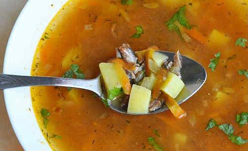 Sup iz kil'ki v tomatnom souse2