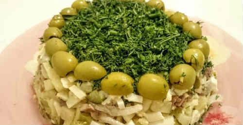 Salat iz pecheni treski konservirovannoj4