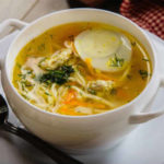 Суп-лапша с курицей по домашнему