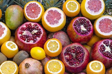 Продукты повышающие гемоглобин в крови_фрукты