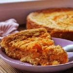 Творожно-морковная запеканка в духовке_кусок