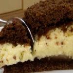 Творожный пирог с крошкой рецепт с фото_кусок