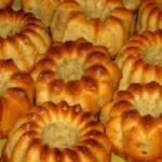 Банановые кексы в духовке рецепт с фото_в формочках