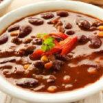 Как сварить фасолевый суп из красной фасоли_пюре