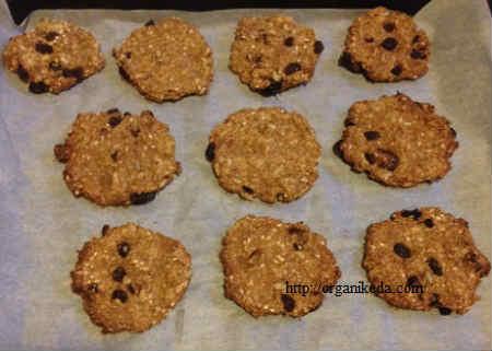 Рецепт печенья из овсяных хлопьев: очень вкусное_выпекаем в духовку