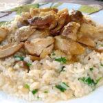 Ризотто с грибами рецепт с фото пошаговый_как приготовить
