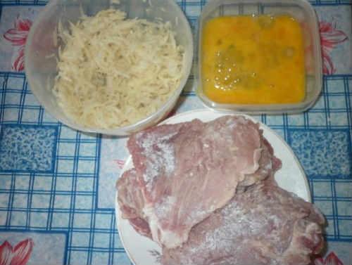 маринад и кляр для куриного филе