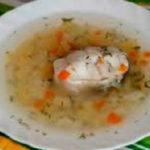 _рыбный суп из минтая готов