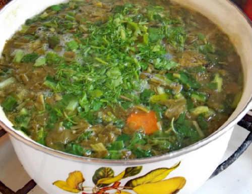 Zelenyj borshh so shhavelem i jajcom recepty4