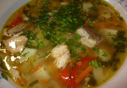 Cup iz rybnyh konservov gorbusha recept1