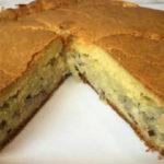 Пирог с рыбной консервой простой и быстрый